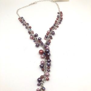 Carolee NWT Vintage Pearls Purple Shades